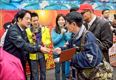 控制疫情源頭 賴:幫助中國等於幫助台灣