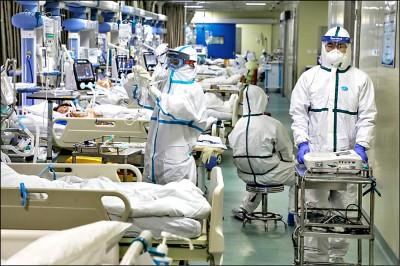 中國確診一天暴增近1.5萬