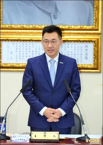 警告吳斯懷 江啟臣:損黨形象可註銷不分區