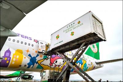 貨運挑大樑 華航、長榮力保營收
