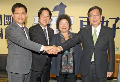 2024換誰當家?賴清德、鄭文燦、林佳龍 三雄相爭