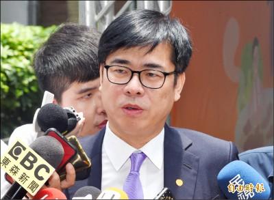 備戰高市長補選? 陳其邁:現在工作是政院副院長