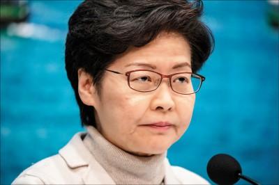 林鄭反擊美國制裁 支持北京反制