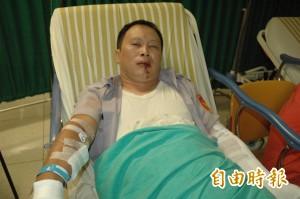 高雄氣爆》受傷員警陳佑平:慶幸還能活著見到家人﹗