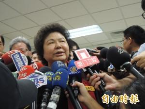 高雄氣爆》陳菊:氣爆至今石化業者不發聲不參與 「這樣對嗎?」