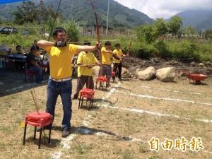 信義鄉羅娜部落成立射箭隊 邀同好競技交流