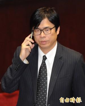 《政黨法》審查被擋 陳其邁:又是張慶忠!