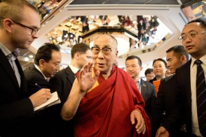 達賴喇嘛德國行讚梅克爾 認西藏問題能和平解決