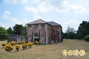 台南水道古蹟建物 水公司捐給南市府