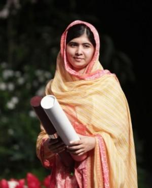 關注兒童人權 馬拉拉、薩蒂雅爾希獲諾貝爾和平獎