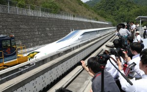 日打造磁浮列車 極速高達540公里