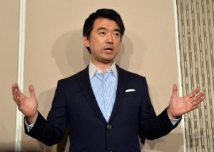 大阪市長橋下徹與右派代表對談 場面火爆