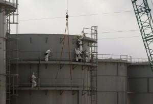 日本福島核電廠1號機 開始拆除外罩