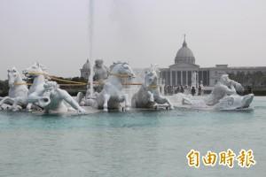 奇美博物館阿波羅噴泉 耗時6年落成發表