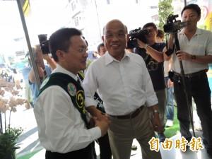 蘇貞昌:民進黨助柯 不會干預人事