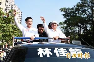 郭董替連站台 林義雄:馬政府讓有些人賺大錢