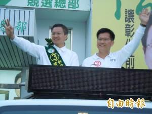 全力拚選舉!林佳龍、魏明谷宣布辭立委