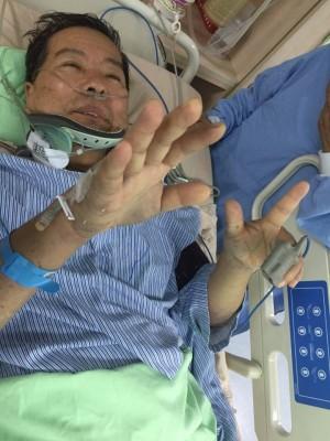 「卡神」楊蕙如父親出車禍 插管也要投柯文哲