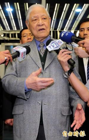 李登輝談國民黨敗選 籲馬雙辭黨魁與總統