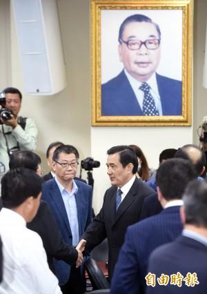 國民黨中常會通過吳敦義代理黨主席案