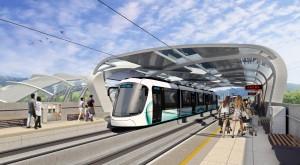 淡海輕軌主體工程簽約 將首次採用國產輕軌車輛