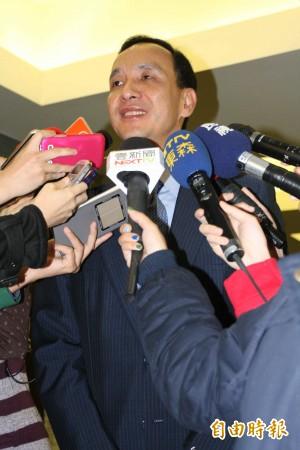 32藍委連署拱朱 盼不計毀譽參選黨主席