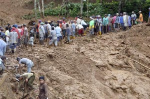 印尼暴雨釀土石流 累計7死、108失蹤