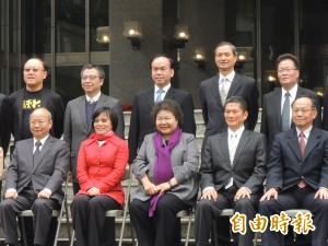 陳菊公布小內閣名單 陳金德出任副市長