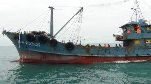 中國漁船兄弟檔屢犯台海 海巡掃蕩開罰