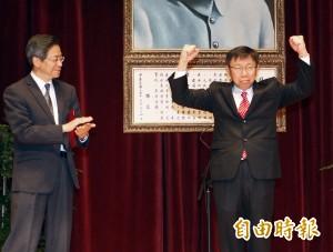 六都市長走馬上任 台灣地方自治史開啟新頁