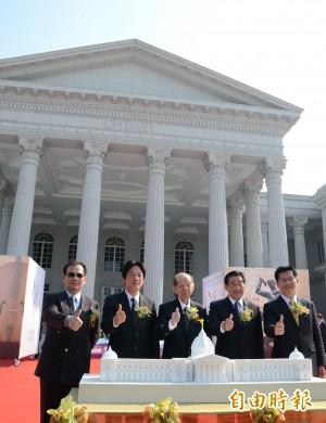 奇美博物館開幕慶 人潮塞爆