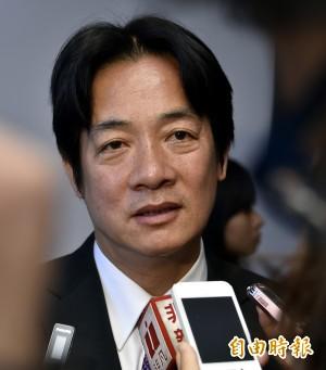賴清德宣布︰司法未釐清前不進議會