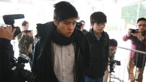 涉阻礙清場 黃之鋒、岑敖暉等人被控藐視法庭重罪