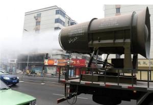 中國「防霾神器」上街開炮 還會有彩虹呢