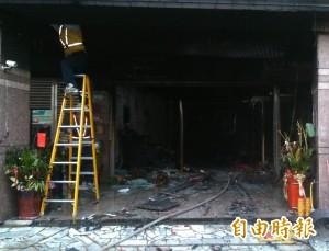 越式推拿店遭人丟擲鞭炮 不慎引發火災