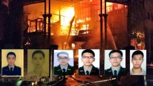 桃園新屋保齡球館大火燒塌 6消防員殉職