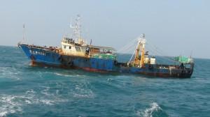 中國漁船越界捕魚 海巡護漁帶案重罰