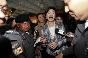 泰檢察總長證實 前總理盈拉將遭控貪汙