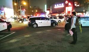罷免立委蔡錦隆 傳連署攤位頻遭警關切