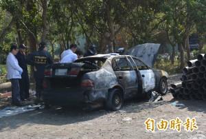 男子燒死駕駛座 警釐清是否他殺