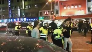 蘆洲廟會遶境警遭毆 受傷員警:想到夜店襲警案