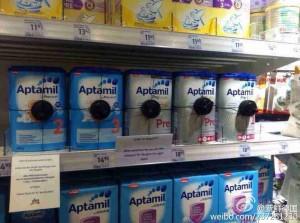 德國超市防強國人買光光 暢銷奶粉全上鎖!
