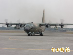 空軍C130運輸機 明起協助離島旅客返鄉過節