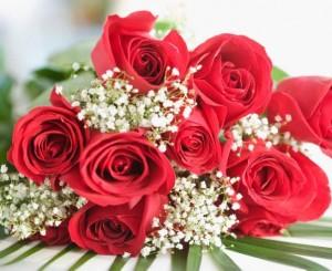 感動!亡夫給愛妻每年情人節一束花