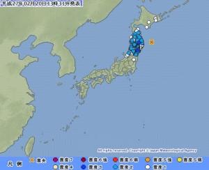 地牛再翻身!日本又發生芮氏規模6.1強震