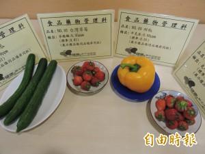 這能吃?新北抽驗蔬果農藥殘留 草莓超標35倍
