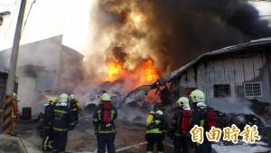 鐵皮屋火災防護 超過600度宜撤離