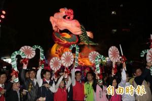台灣燈會今晚揭序幕  豐原燈區率先點燈吸人潮