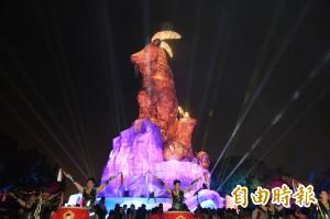 台灣燈會第2道光芒 台中公園燈區亮起來