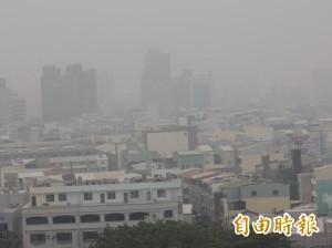 空污全國最差前10名 台江NGO籲設置校園空污旗